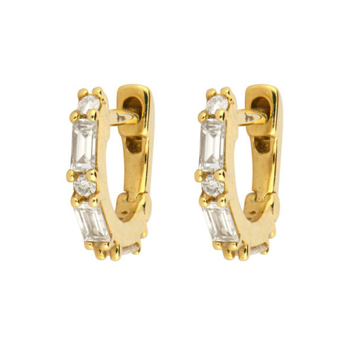 18KT Diana Hoop Earrings