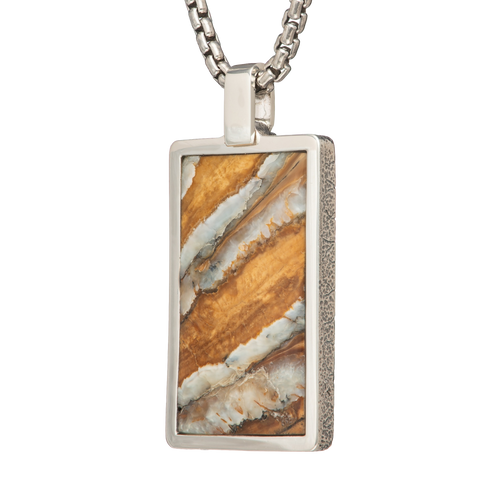 Mammoth Dog Tag Necklace