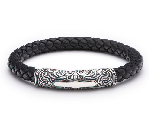 Yosemite Braided Leather Bracelet