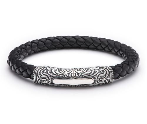 Yosemite Braided Leather Bracelet