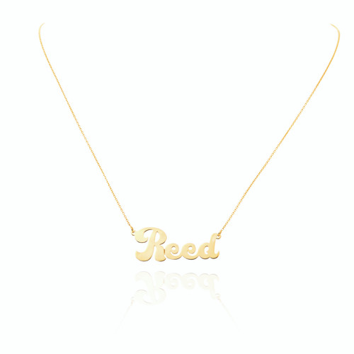 Personalized Type Necklace