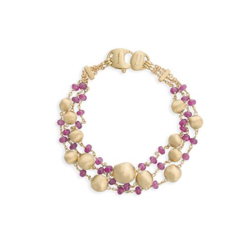 18KT Africa Precious Ruby Bracelet