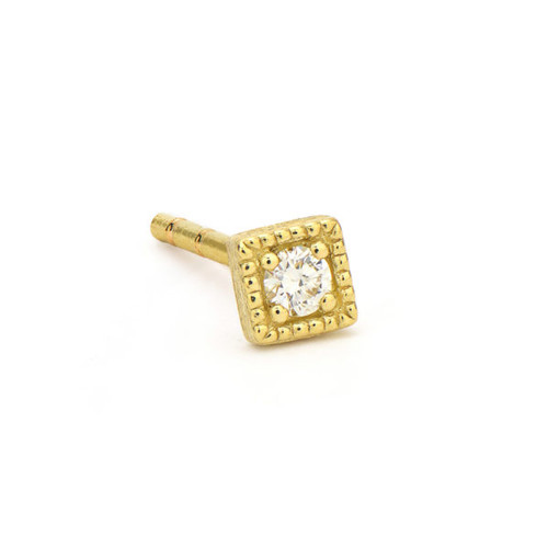 Petite Diamond Kite Stud Earring