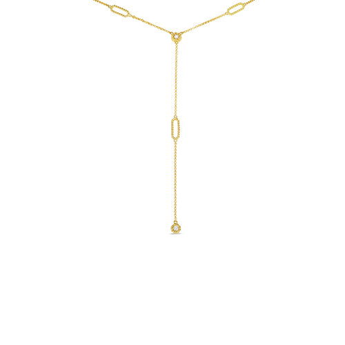 18KT Barocco Y Necklace