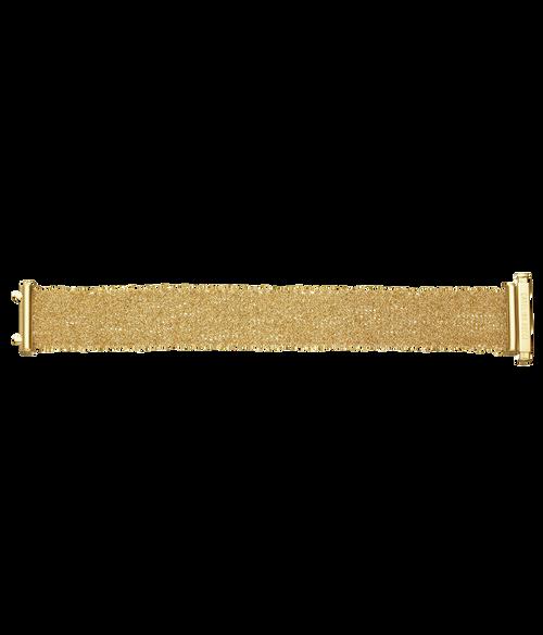 Classic All Gold Woven Bracelet