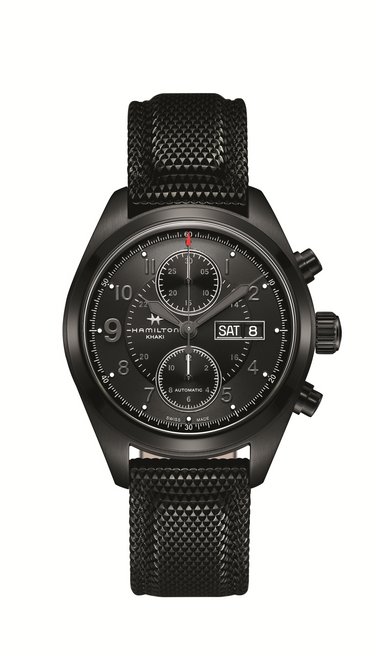 Black Dial Chronometer Watch