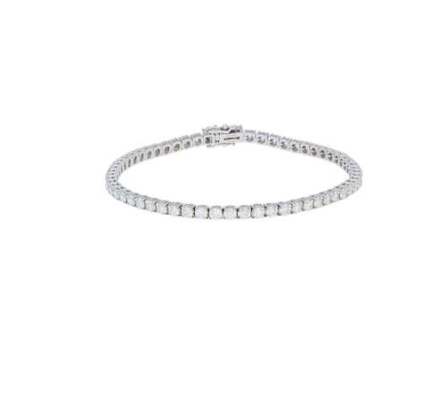 14KT 4.62ct Diamond Tennis Bracelet