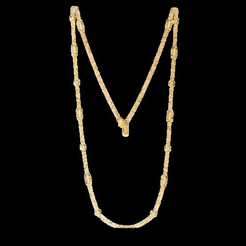 18KT Alternating Diamond Station Necklace