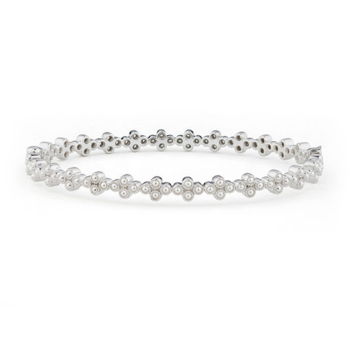 Provence Continuous Diamond Quad Bangle