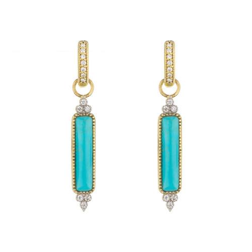 Moroccan Marrakesh Turquoise Earring Charm