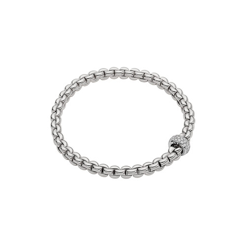 18KT EKA Diamond Pave Flex'it Bracelet