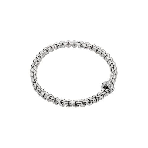 18KT EKA Diamond Pave Flex'it Bracelet