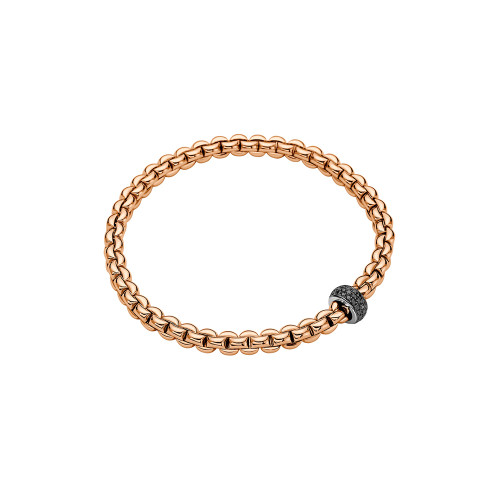 18KT EKA Black Diamond Flex'it Bracelet