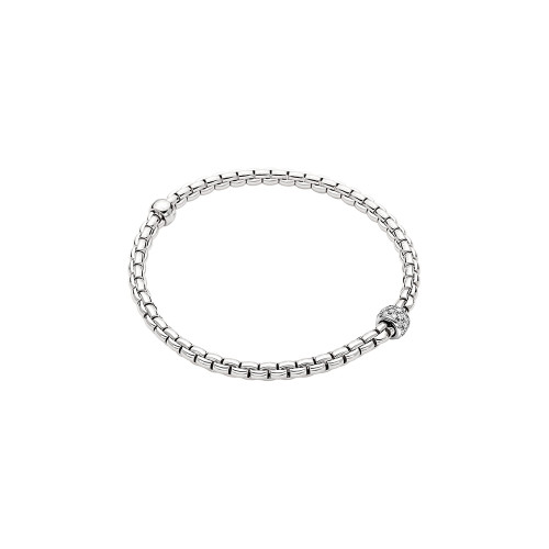 18KT EKA Tiny Diamond Pave Flex'it Bracelet