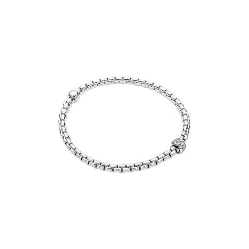 18KT EKA Tiny Diamond Pave Flex'it Bracelet