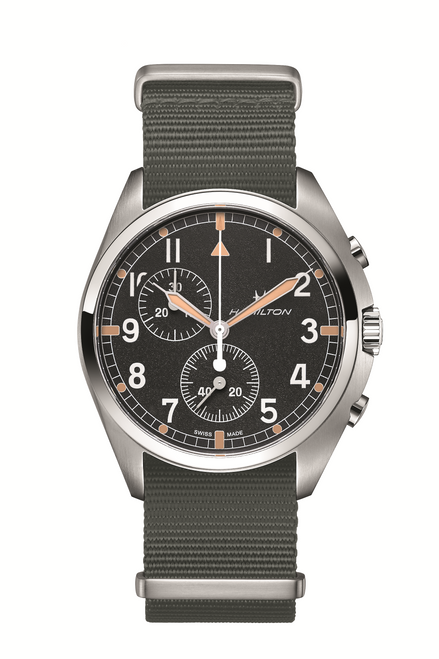 Khaki Aviation Pilot Pioneer Chrono Quartz Watch
