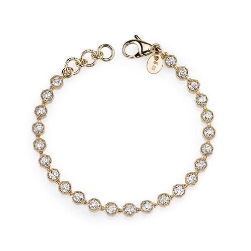 18KT Small Gemma Bracelet