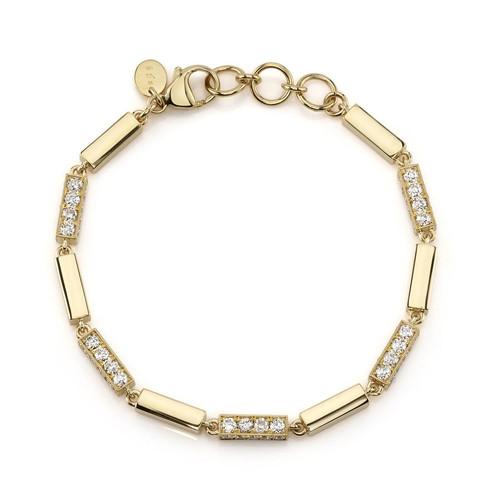 18KT Giana with Diamonds Bracelet