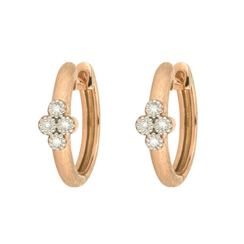 Rose Gold Provence Small Hoop Earrings