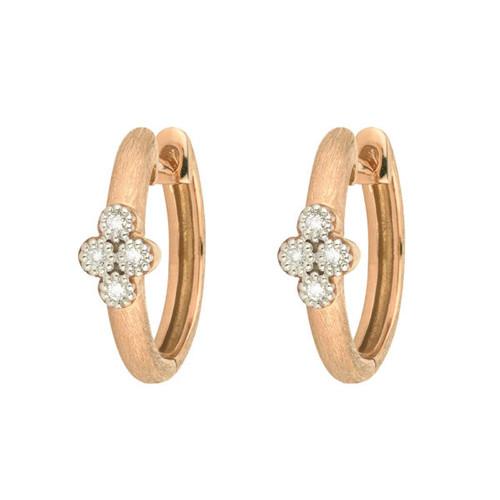 18KT Provence Small Hoop Earrings