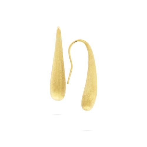 18KT Lucia Small Modern Teardrop Earrings
