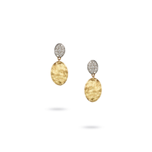 18KT Siviglia Diamond Drop Earrings