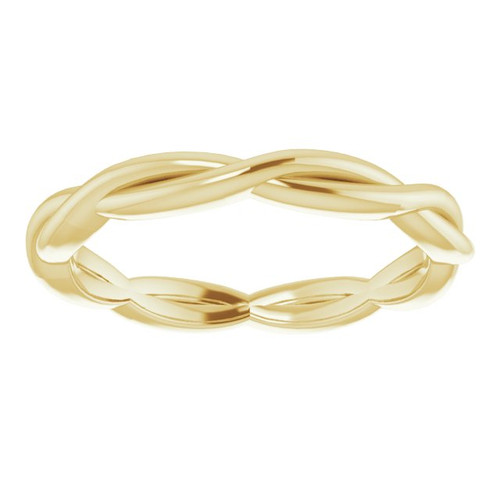 14KT Woven Band