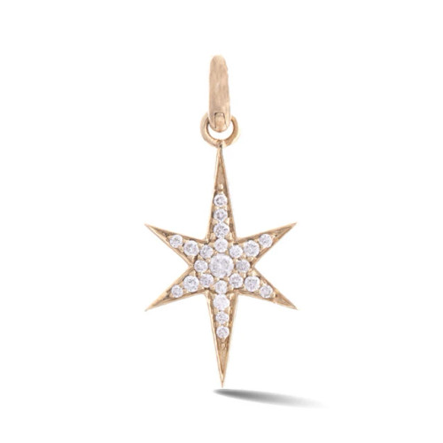 14KT Diamond Stella Charm