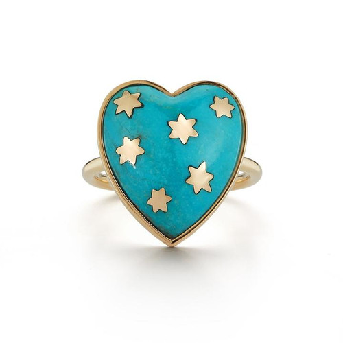 14KT Turquoise Ana Ring