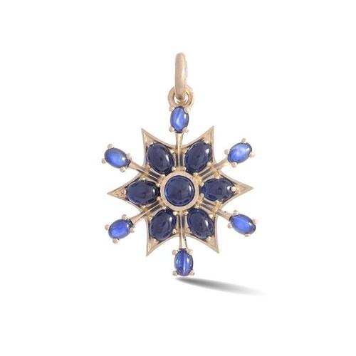 14KT Blue Sapphire Sadie Charm