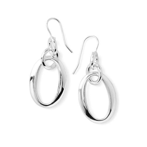 Classico Short Oval Link Earrings