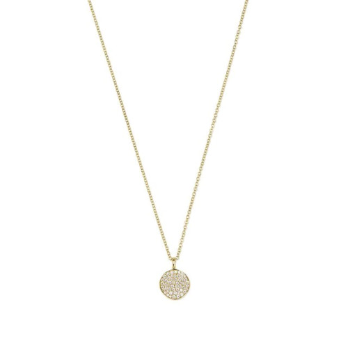 18KT Stardust Small Flower Pendant Necklace