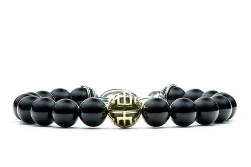 Midnight Hour Bead Bracelet