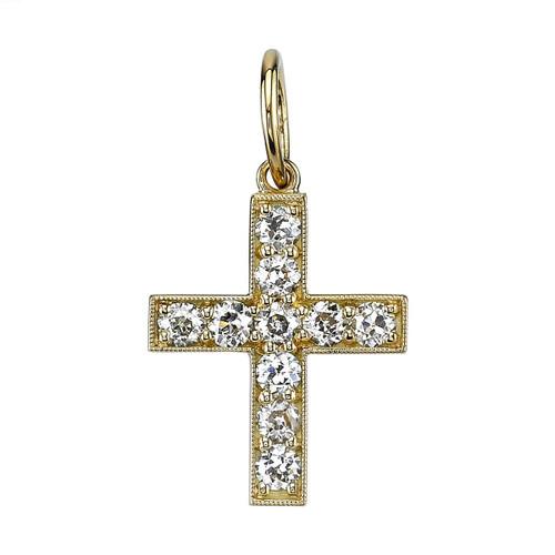 18KT Carmela Cross Charm
