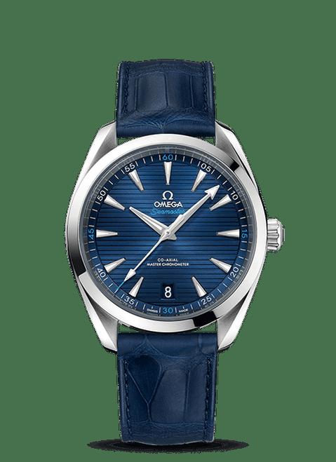 Seamaster Aqua Terra 150M Omega Co-Axial Master Chronometer 41 mm  Leather Strap
