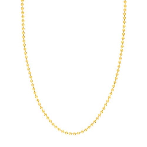 14KT 3.5mm Bead Chain