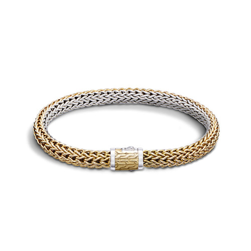 Classic Chain 6.5mm Reversible Bracelet