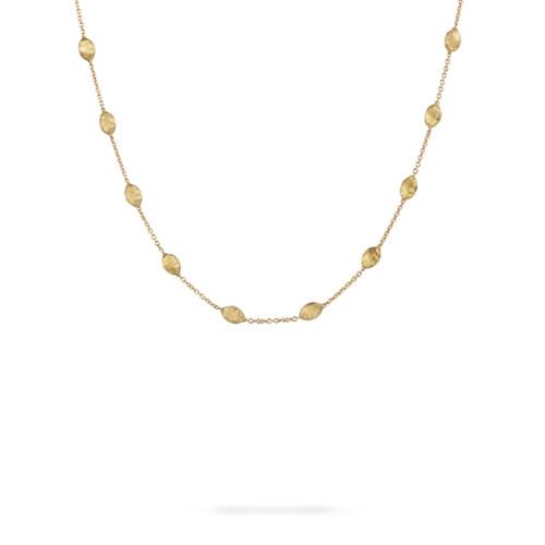 18KT Siviglia Small Bead Short Necklace