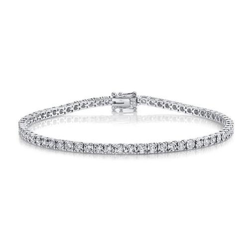14KT Diamond Tennis Bracelet
