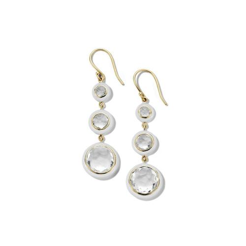 18KT Carnevale 3 Drop Earrings
