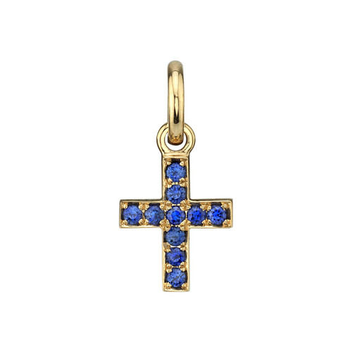 18KT Mini Carmela Cross Charm