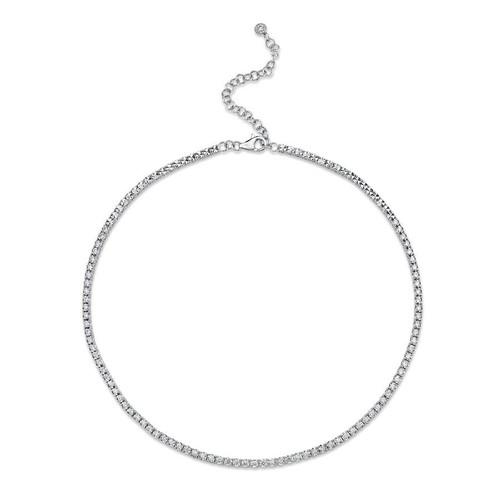 14KT Stella Diamond Tennis Necklace