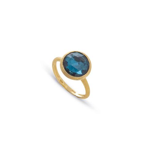 18KT London Blue Topaz Ring