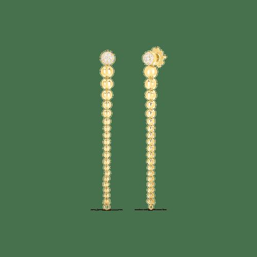 18KT Convertible Tassel Earrings