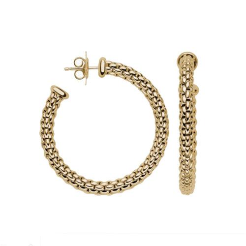 18KT Essentials Hoop Earrings