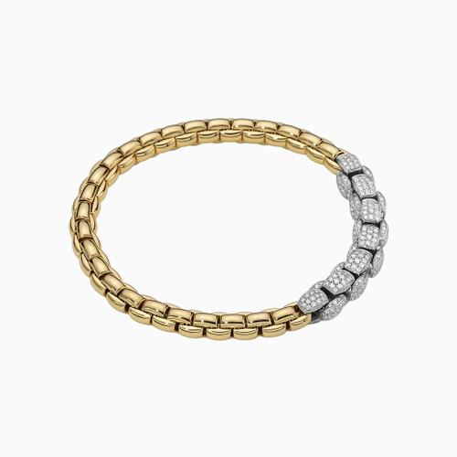 18KT Flex'it EKA Diamond Pave Bracelet