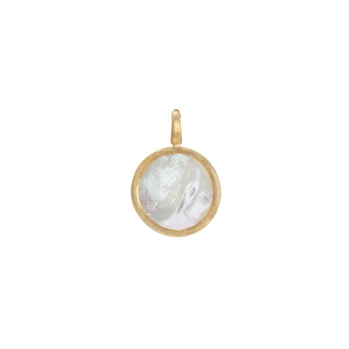 18KT Medium Mother of Pearl Stackable Pendant
