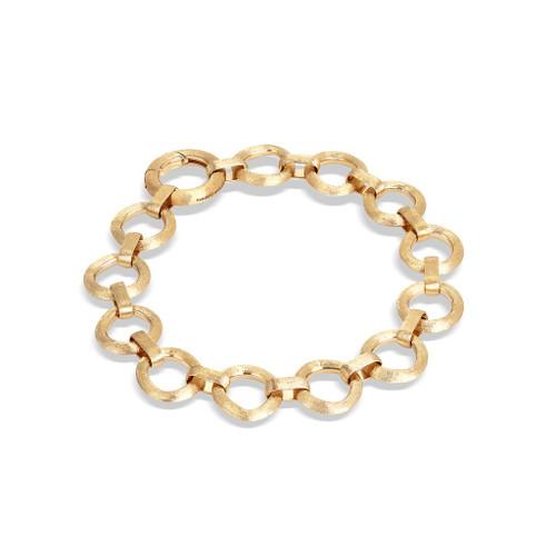18KT Flat Link Bracelet