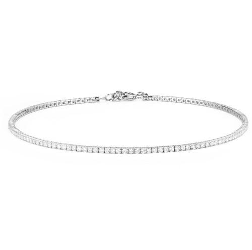 14KT Diamond Tennis Choker Necklace