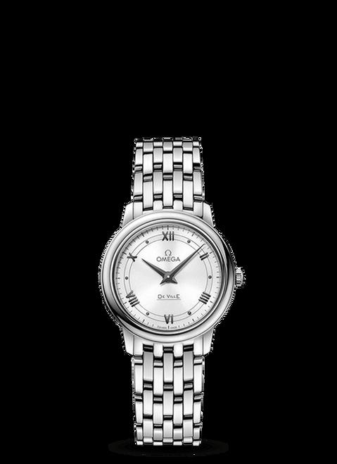 De Ville Prestige Quartz 27.4 mm White Dial
